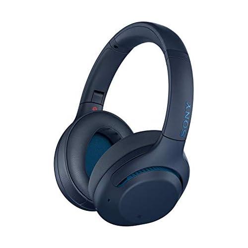 chollos oferta descuentos barato Sony WH XB900N Auriculares InalámbRricos Cancelación de uido Bluetooth Extra Bass 30h de batería Carga Rápida Óptimo para trabajar Micro para llamadas manos libres Azul