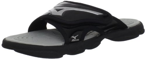 Mizuno Runbird Slide 6 Sandals - Great for Baseball, Soccer, Volleyball, & all sports.