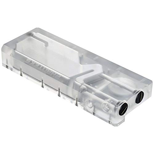 Integrated Digital-RGB Lighting Phanteks Glacier R220C Combo Reservoir for DDC Pump Transparent Acrylic Backplate