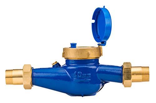 Hunter Hydrawise HC-150-FLOW Flow Meter 1 1//2 NPT Thread HC150FLOW SPW
