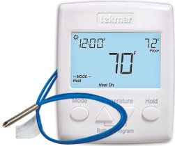 (Tekmar 521 Two Heat or Heat-Cool Programmable Thermostat)