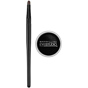 48bde2021ee Image Unavailable. Image not available for. Color  Maybelline Makeup  Eyestudio Lasting Drama Gel Eye Liner