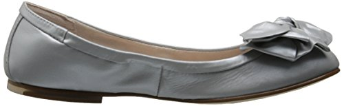 Argento Flat Clara London Ballet Bloch Womens IzwX04f