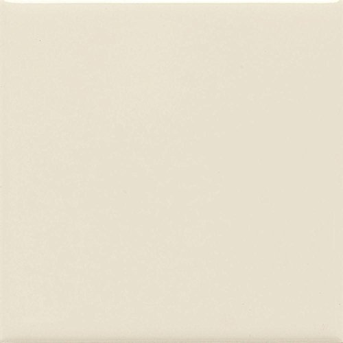 Daltile Semi Gloss 4-1/4 in. x 4-1/4 in. Almond Ceramic Bullnose Wall Tile (Gloss Tile Flooring Almond)