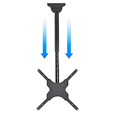 Mount Factory Swiveling TV Ceiling Mount For 26 in. - 55 in. TVs