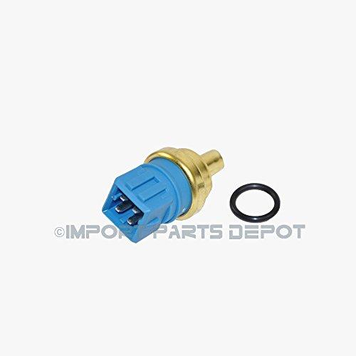Audi VW Volkswagen Engine Coolant Temperature Sensor (Blue 4 Pin) Premium 059919501 (Rabbit Coolant)