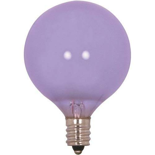 X Incandescent Globe Light, 40W E12 G16 1/2, Full Spectrum Bulb [Pack of 6] ()
