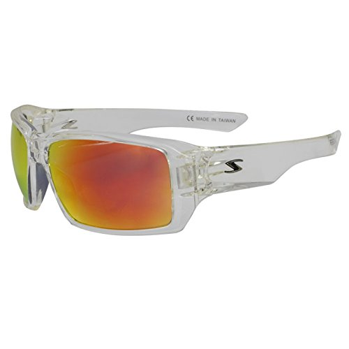 Serfas Auger Sunglass with Multi-Coat Lens, Clear, Universal - Serfas Sunglasses