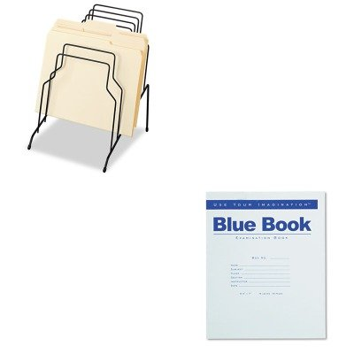 KITFEL72614ROA77512 - Value Kit - Roaring Spring Exam Blue Book (ROA77512) and Fellowes Step File (FEL72614) by Roaring Spring
