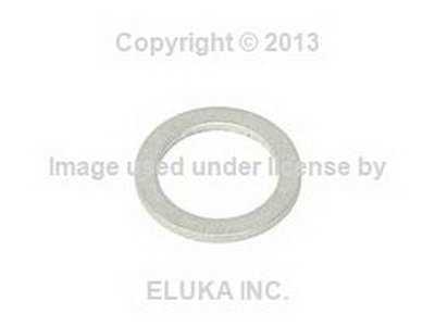 4 X BMW Genuine Gasket Ring Washer - Cylinder Head Vanos Unit Oil Pipe Line Bolt 733i 735i 633CSi 635CSi M6 524td 528e 533i 535i M5 318i 318is 325e 325i - Vanos Oil Line Unit