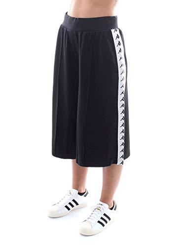 921 222 Pantaloncino Afleur Donna Kappa white white m 921 3031vz0 Banda Black Black T8H4qa