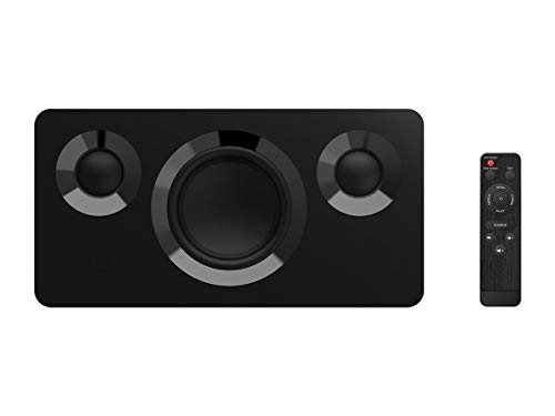 Monoprice True Wireless Stereo Bluetooth Speaker, SoundStage3 - Black with 120 Watts, TWS Bluetooth, aptX Ideal Indoor/Small Home Theater -
