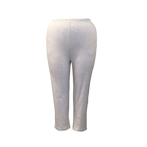 Womens Pants Cotton Elastic Waist