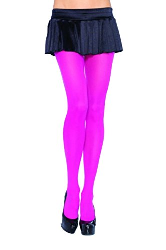 Neon Pink Tights - 6