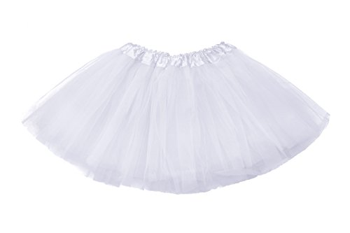 Lubin Baby Girls Kids Child Tutu colorful Skirt Mini Party Ballet Dance Short Skirts 2-10 Years (Kids Skirt)
