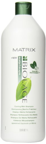 Biolage Energizing Shampoo - Matrix Biolage Cooling Mint Shampoo, 33.8 Ounce