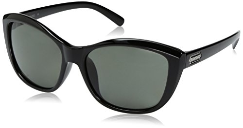 Suncloud Skyline Sunglasses, Black Frame/Gray Polycarbonate Lens, One Size