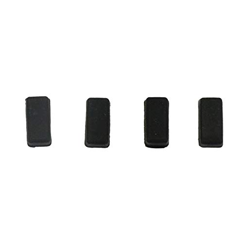 Hewlett Packard Rubber Foot - Replacement 4pcs New Rubber Feet for HP 8460P 8470P 2560P 2570P 2170P Bottom Case Cover