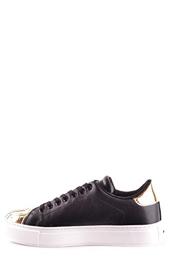 Donna Pinko Pelle Sneakers Mcbi29750 Frnbxcwqwv Nero 3FclT1JK