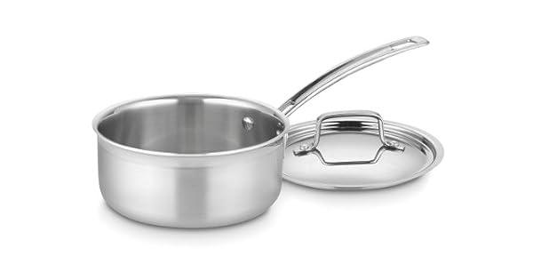 Amazon.com: Cuisinart Multiclad Pro – Cazo de acero ...