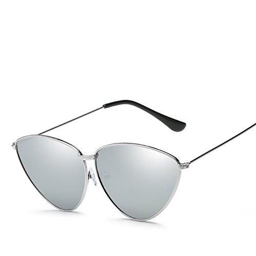 Gafas De UV Estilo Gato Moda Polarizado Ojo Selección De Protección Colores De De Gafas Varios Sol Personalidad De Simple Silverboxmercury Mujeres PvYXqd