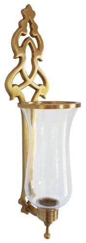 Acogedor hogar cs5178a vela candelabro, latón antiguo, Paquete de 2