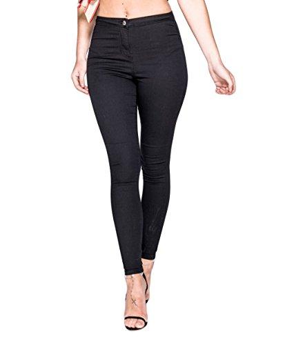 unique Jeans Noir taille Loomiloo Femme 8tR1qgg