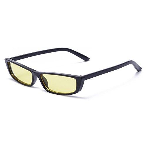 Gafas C3 Mujer Cuadrado Rectángulo De Pequeño Gafas Sol Ojo Gafas Moda Mujer C2 Gafas Uv400 KLXEB wTAPqxa6x
