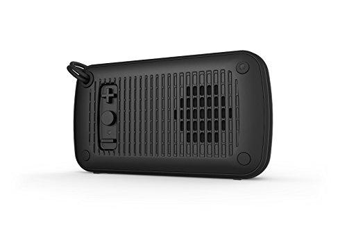 Skullcandy Ambush Water-resistant Drop-proof Bluetooth Portable Palm Speaker, Black