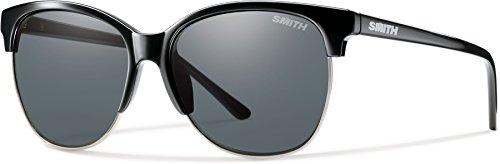 Smith Optics Rebel Carbonic Polarized Sunglasses, Black, Gray