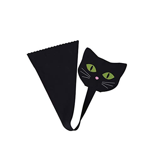 Women's Invisible C-Shaped Panties Cuty Cat Painted C-String Underwear Lingerie Underpants Black]()
