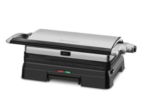 Cuisinart GR-11FR Cuisinart GR-11FR Griddler 3-in-1 Grill and Panini Press (Certified Refurbished), Black by Cuisinart (Image #1)