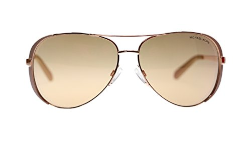 Michael Kors Chealsea Womens Sunglasses M5004 1017R1 Rose Gold Aviator - Celine Michael Kors