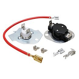 279816 dryer thermal fuse & high limit thermostat kit replacement for inglis, admiral, whirlpool, kenmore  inglis dryer fuse box #14