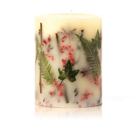 Rosy Rings Round Botanical Candle - Red Currant & Cranberry