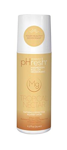 NEW! Honestly pHresh Magnesium Roll-On - Tropical Nectar