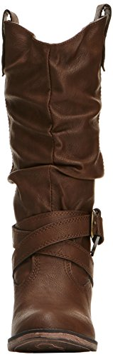 Dog Rocket Chocolate Marrón mujer Botas Sidestep para HwwnOqgz