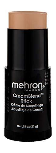 Mehron Makeup CreamBlend Stick (.75 oz) (LIGHT BUFF)