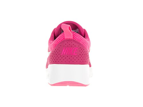 Black Low Top Sneakers Thea NIKE White Max Air Women's Summit Vivid Pink nxwqq0Rg