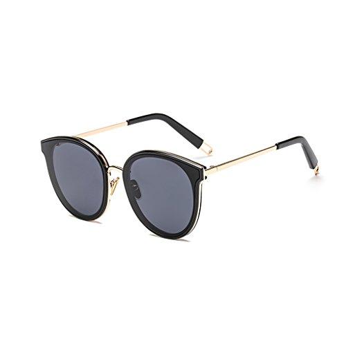 Gafas De UV Sol Color Taiyangjing Estilo Sol Gafas Protección Pink Negro Star De Polarizadas Star Unisex HAIYING Shades 100 ZqttEw0