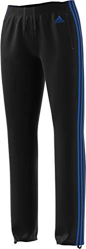 adidas Womens Designed 2 Move Straight Pants, Black/Blue, Medium by adidas (Image #1)