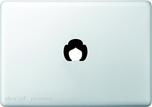 Princess Leia - Decal Sticker for MacBook, Air, Pro All Models ()