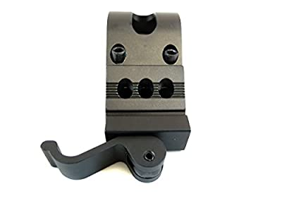 "Monstrum Tactical 1"" Offset Picatinny/Weaver Rail Mount for Flashlights with Quick Release"