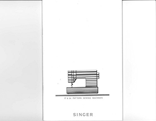 Singer 7043-7057-9117-9124-9137-9417 Sewing Machine Owners Manual