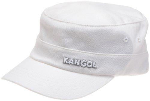 Kangol Men's Twill Army Cap, White, Large/X-Large ()