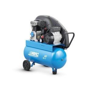 Compresseur d air à piston vitesse lente 2 CV monophasé réservoir de 50  litres ABAC a3eb7fe4fe7e