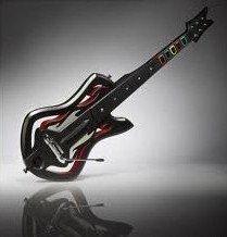 Guitar Hero: Warriors of Rock Wireless Guitar Controller - Guitar Only - For Wii - Warrior Rock Sliders