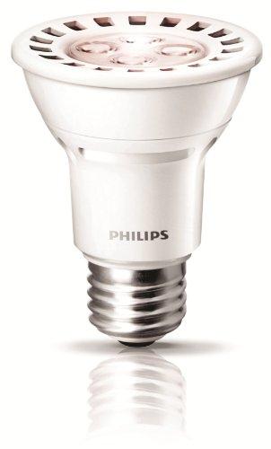 Philips 426122 8-Watt (50-Watt) AirFlux PAR20 LED 2700K (Warm White) Flood Light Bulb, Dimmable