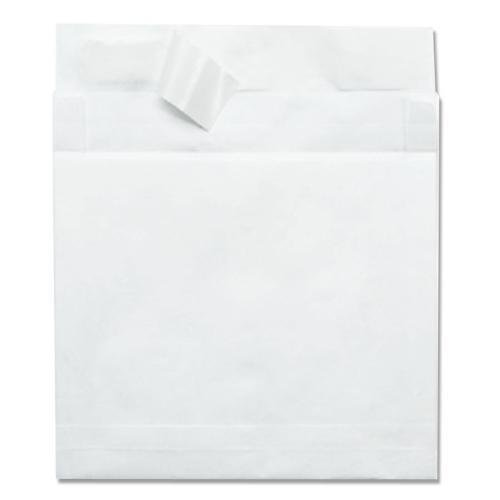 R4650 Quality Park Lightweight Expansion Envelope - Expansion - 12'' x 16'' - 14 lb - Self-sealing - Tyvek - 100/Carton - White by Quality Park
