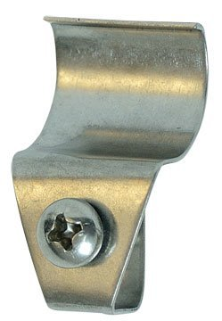Stainless Steel No Hole Keyhole Hooks Vinyl Siding Mount Country Primitive Exterior Wall Décor